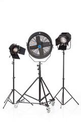 Studio Ventilator And Lightings