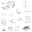 set white collection paper - packaging 16 pieces