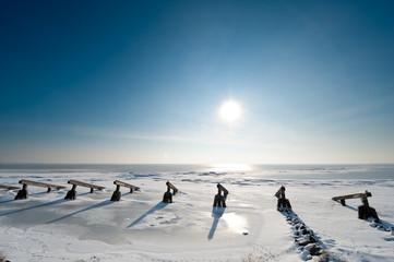 Ice breakers in winter