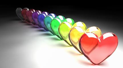 cuori di vetro - hearts