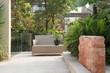 Backyard Patio in Garden