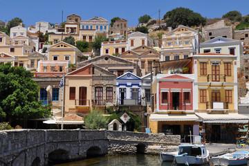 beautiful Simi island,Greece