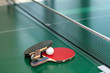 Table tennis rackets and ball - 20199364