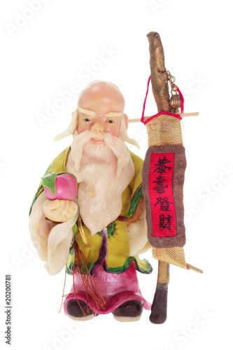 God of Longevity Figurine