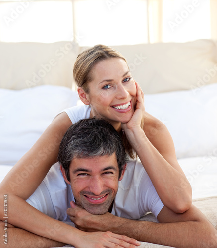 Portrait of a smiling couple