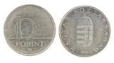10 Forint - hungarian money poster