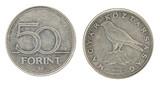 50 Forint - hungarian money poster