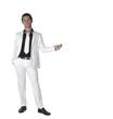jeune homme au costume blanc 7
