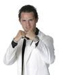 jeune homme au costume blanc 19