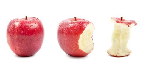 3 rote Äpfel