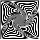Fototapety Schwarz-weiße Spirale