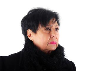 Portrait d'une retraitée active de 81 ans