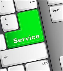 service keyboard