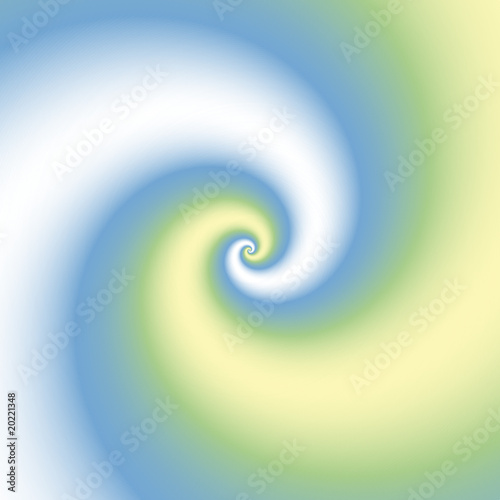 green blue swirl