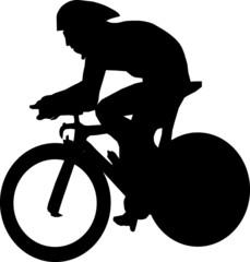 Zeitfahrer Radsport
