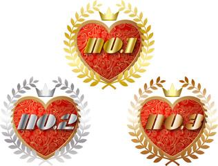 Love ranking icon