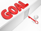 3D guy gains access to its  goal(3D happyman isolated series) poster