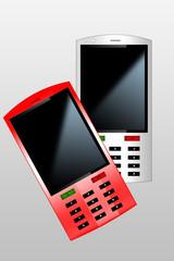 zwei Handys