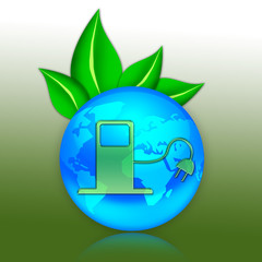 "Eco Illustration ""Alternative Energy"""
