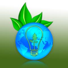 "Eco Illustration ""Alternative Power"""