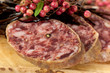 Gourmet Pepper Salami with garlic and seaweed