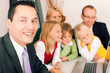 Familie und Berater Finanzen und Versicherung