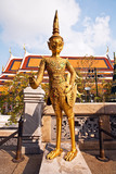 a kinaree, a mythology figure, in the Grand Palace poster