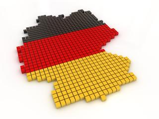 Deutschlandkarte 1