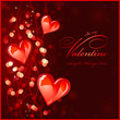 Valentines background or greeting card