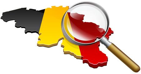 La Belgique à la loupe (détouré)