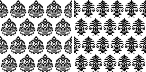 the vector seamless victorian background