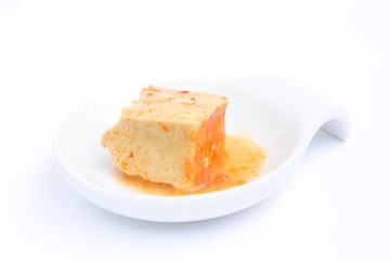 Hot bean curd preserved / 腐乳