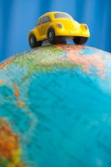 auto auf globus