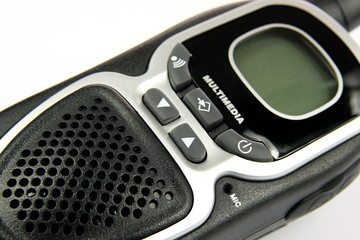 Detail walkie talkie