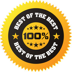 "Vector ""Best of the Best"" Badge for your business artwork"