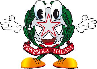 repubblica italiana omino