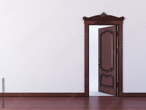 Door brown