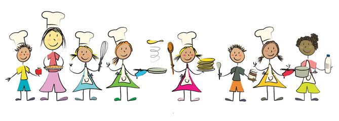 ribambelle enfant cuisine