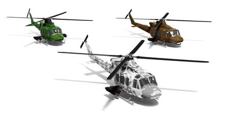 hélicoptères de combat