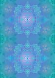 blue openwork background poster