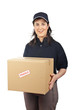Delivering a package fragile