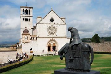 Assisi. Basilica di San Francesco.
