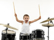 young drummer boy