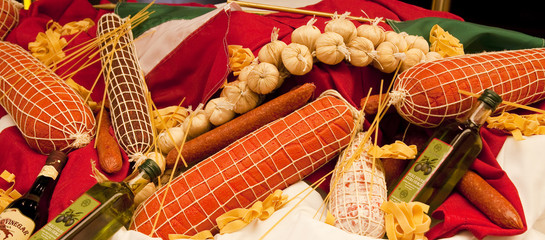 Italian Food Display