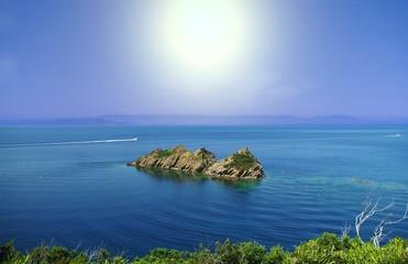 île de port cros en méditerranée
