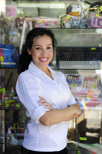 small business: portait of a retail store owner