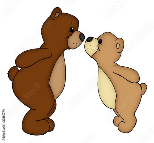 Illustration bären teddys bär teddy stofftiere stofftier