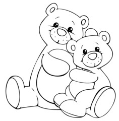 Bären, Teddys, Bär, Teddy, Stofftiere, Stofftier