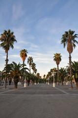 Paseo marítimo en Barcelona