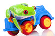Green Frog on toy